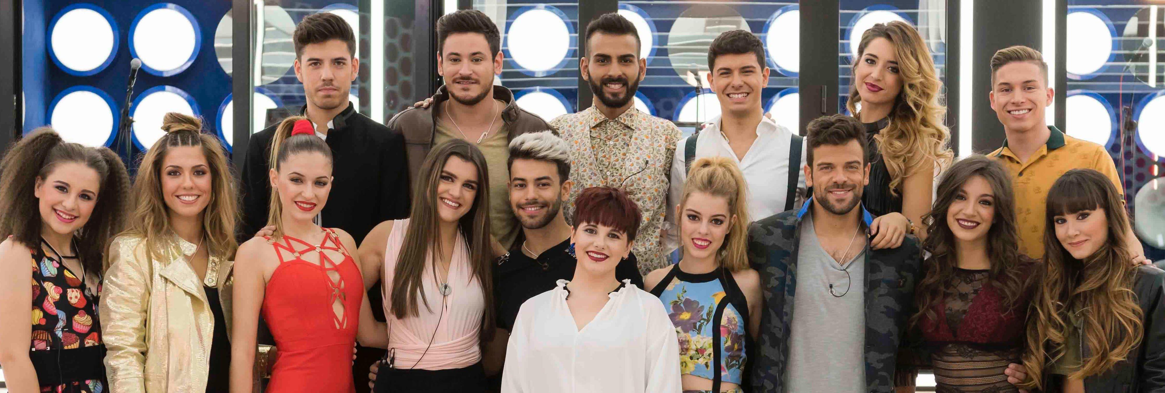 Concursos de TV, discos en solitario... el pasado desconocido de los chicos de 'OT 2017'