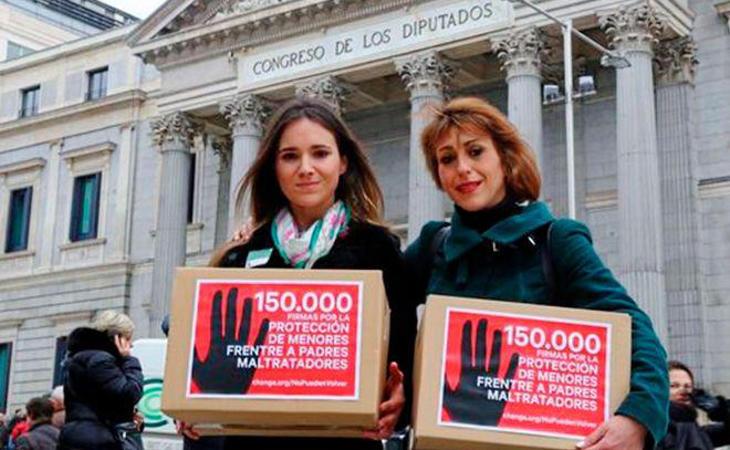 Juana Rivas pidió una ley para que se protegiese a los menores en el caso que existiese violencia machista