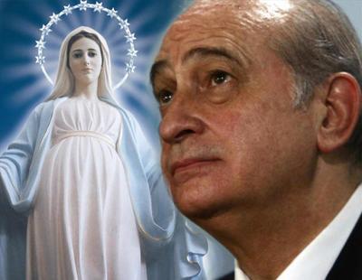 Fernández Díaz da veracidad a unas apariciones de la Virgen que ni la Iglesia reconoce