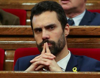 Roger Torrent, de ERC, elegido presidente del Parlament de Cataluña