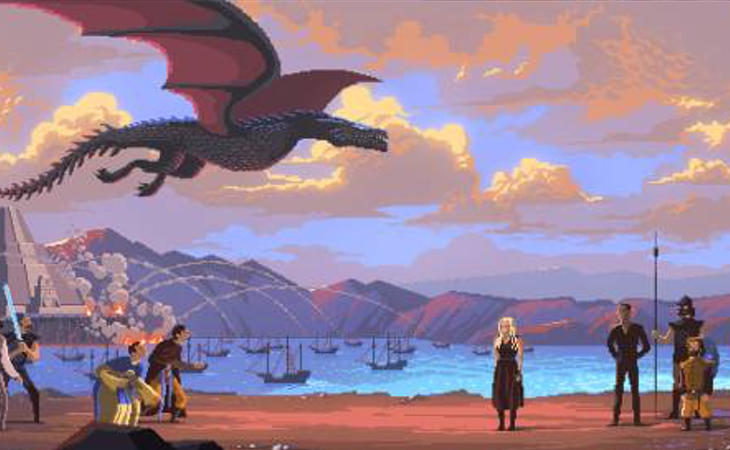 'Juego de tronos' en Pixel Art
