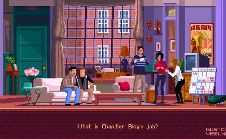 'Friends' en Pixel Art