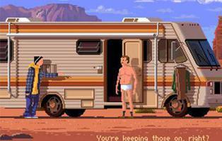 Un artista imagina cómo serían las series de hoy si fuesen videojuegos de los 90