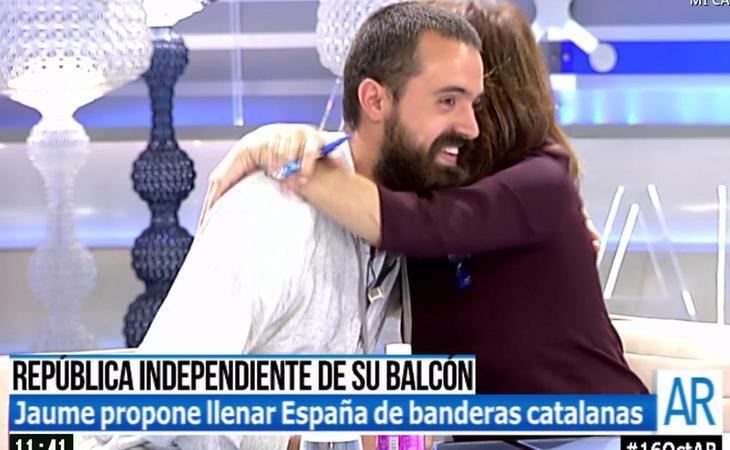 Jaume Vives ha acaparado horas en televisión