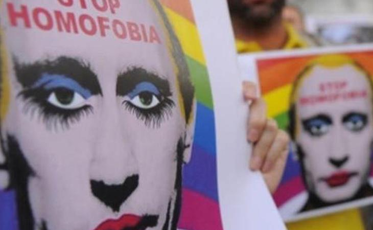 El proyecto 'pilla-pilla proviene de Rusia, uno de los países más homófobos