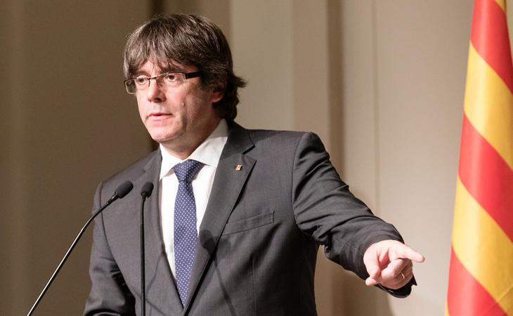 Carles Puigdemont quiere volver a ser investido president