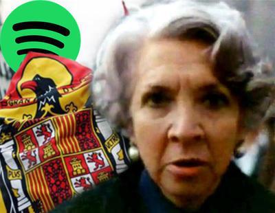 El 'Cara al Sol' se cuela entre las canciones más escuchadas de Spotify España