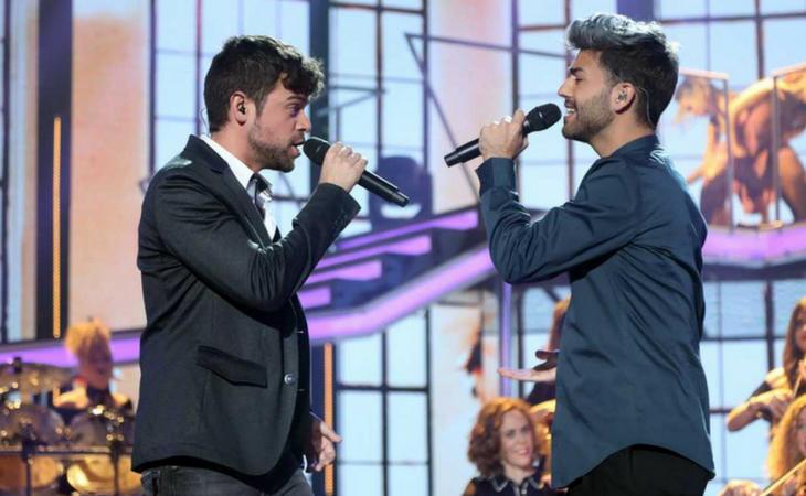 Ricky y Agoney podrían funcionar muy bien en musicales