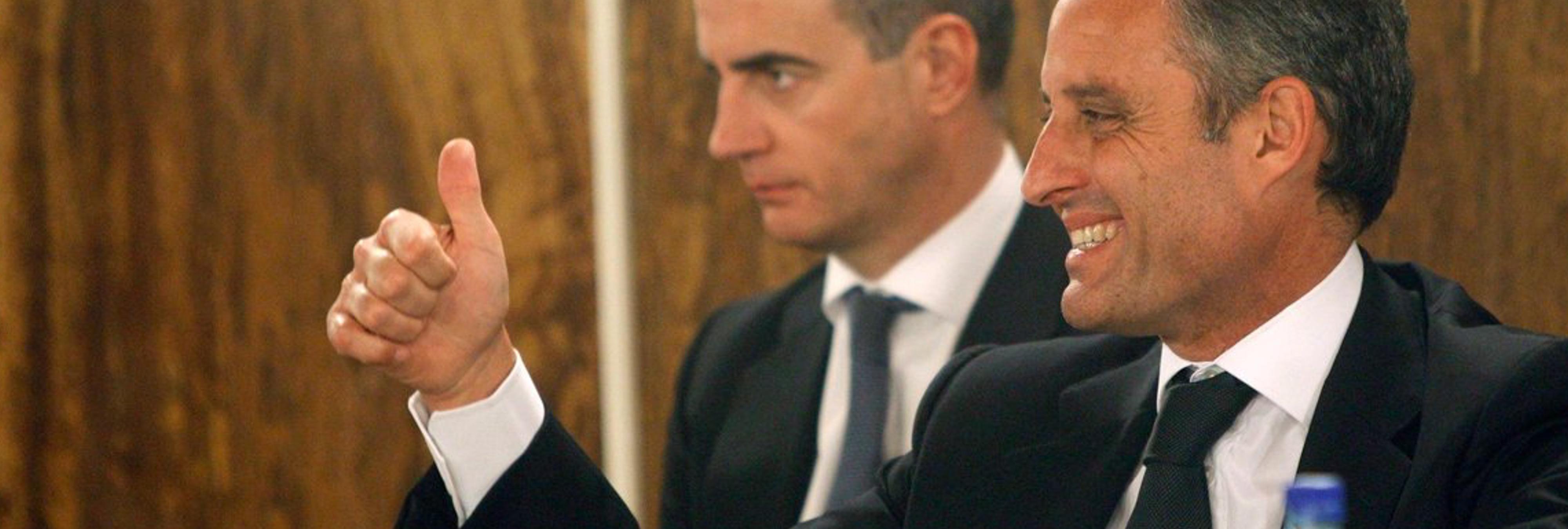 Los empresarios que financiaron ilegalmente al PP valenciano se marchan de rositas