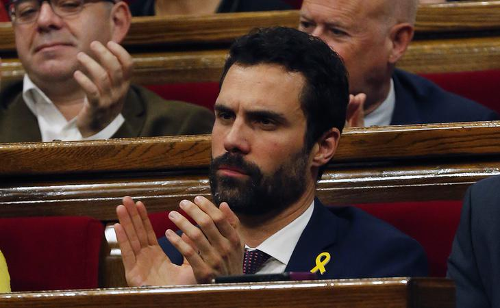 Roger Torrent nombrará a Carles Puigdemont candidato a la investidura