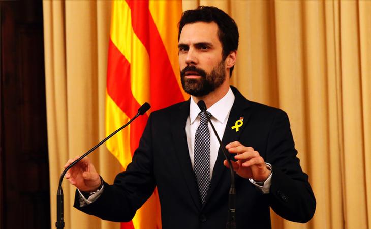 Torrent propone a Puigdemont como candidato a president de la Generalitat
