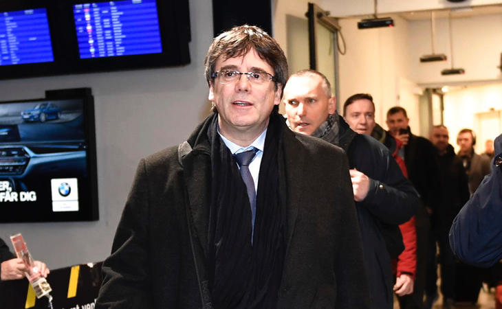 Carles Puigdemont ha viajado hasta Copenhague