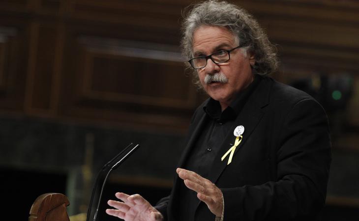 Joan Tardà se mostró favorable a una moción de censura liderada por el PSOE