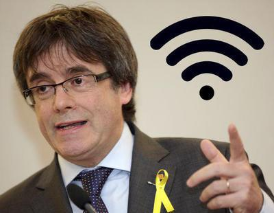 'FreePoliticalPrisoners': el nombre del WiFi durante el acto de Puigdemont en Copenhague