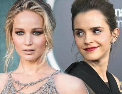 """Duelo entre Emma Watson y Jennifer Lawrence por el premio a """"Peor actriz del año"""""""