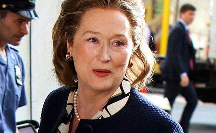 Meryl Streep en su papel en Los archivos del Pentágono
