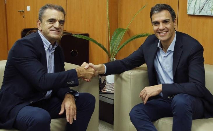 José Manuel Franco fue el responsable de la campaña de Pedro Sánchez a la Secretaría del PSOE