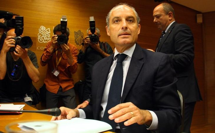 Camps ha sido señalado por la financiación ilegal del PP valenciano durante su mandato al frente de la Generalitat Valenciana