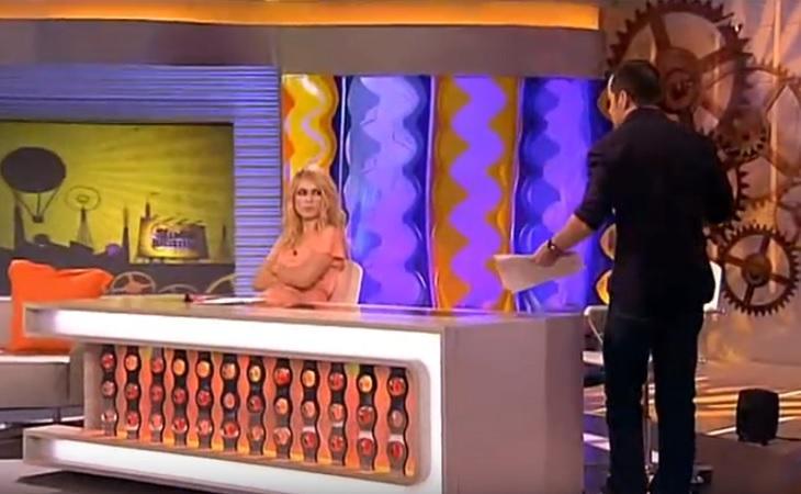 Patricia Conde enfadada con su compañero Ánegl Martín