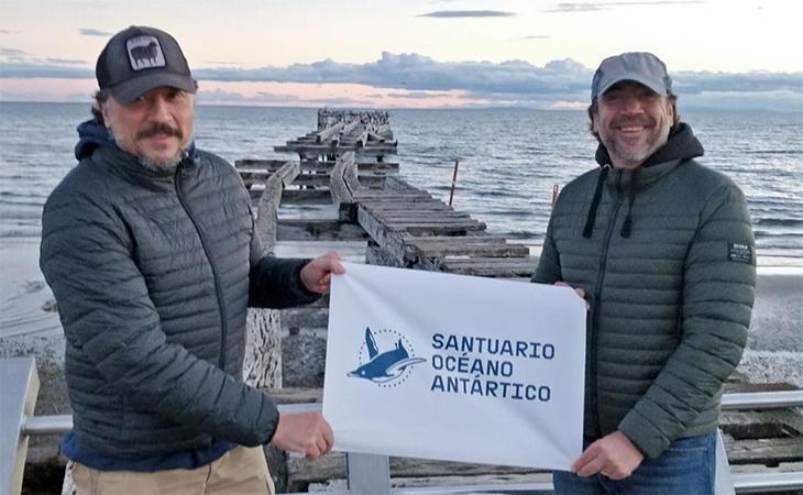 Ambos hermanos apoyan la creación del Santuario en el Océano Antártico