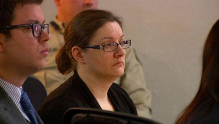 Nicole Finn en el banquillo de acusados