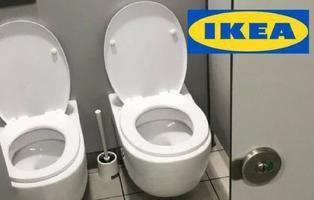 IKEA propone váteres de dos en dos para decorar el cuarto de baño