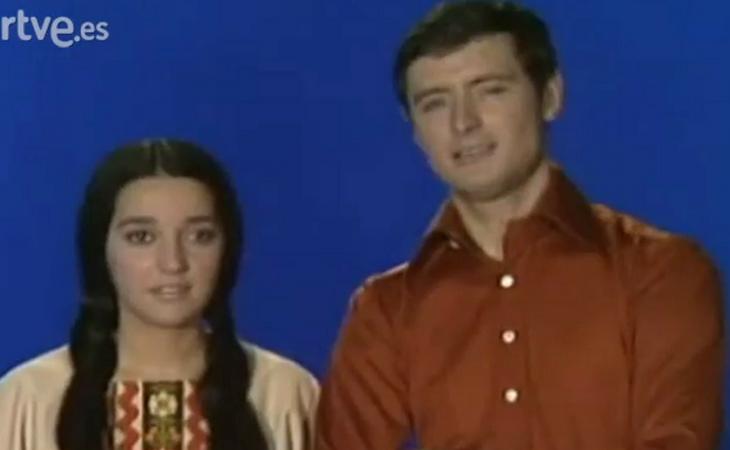 Sergio y Estíbaliz ha sido el único dúo mixto de la historia en Eurovisión España