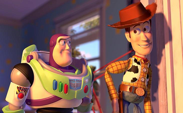 'Toy Story' se queda con el número dos del ranking