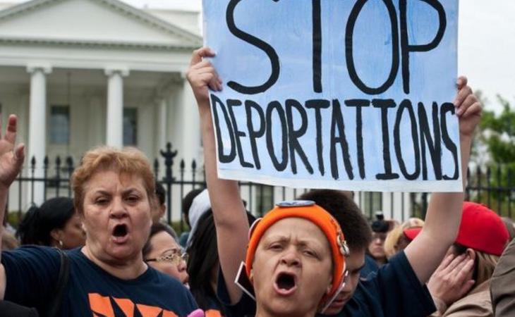 La amenaza de la deportación planea sobre gran parte de la inmigración estadounidense