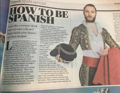 Impuntuales, maleducados y vagos: así define The Times a los españoles