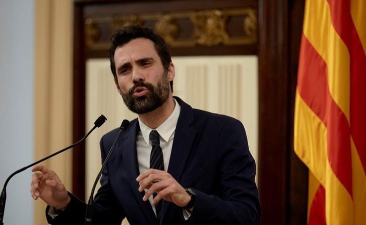 Roger Torrent ha criticado las peticiones de Puigdemont