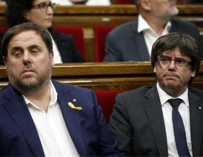 "Dos diputadas de Puigdemont llaman ""cagados"" a ERC en los pasillos del Parlament"