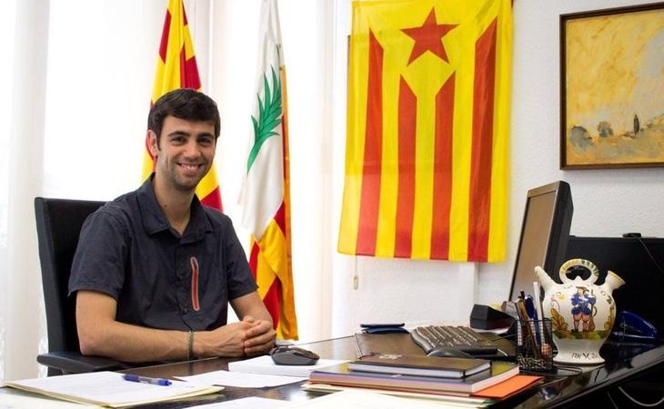 El alcalde de Argentona, Eduald Calvo