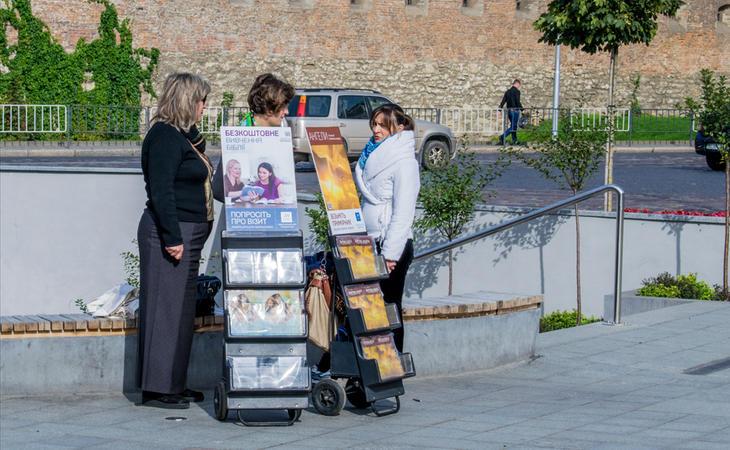 Los Testigos de Jehová siempre tratan de interceptar gente