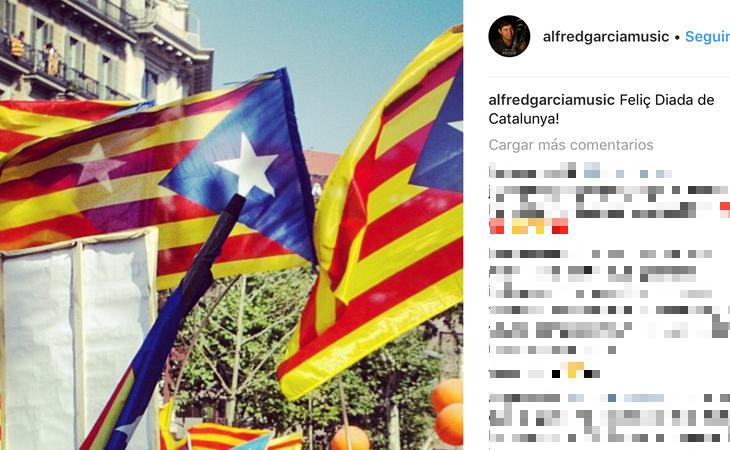 Esteladas en el perfil de Instagram de Alfred