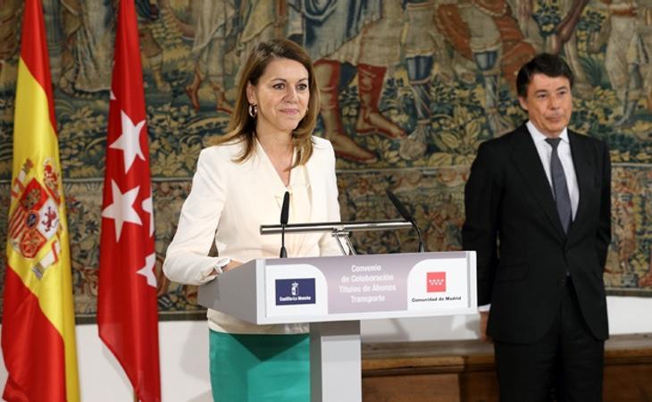 Ignacio González acusa a Cospedal de querer hacerse con el poder a costa de traicionar a quien sea