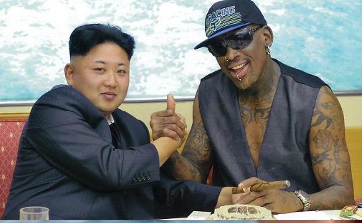 La amistad entre Kim y Rodman es ampliamente conocida