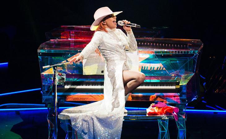 Lady Gaga en el Joanne World Tour