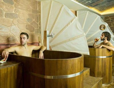 Abre en Granada el primer spa de cerveza de España