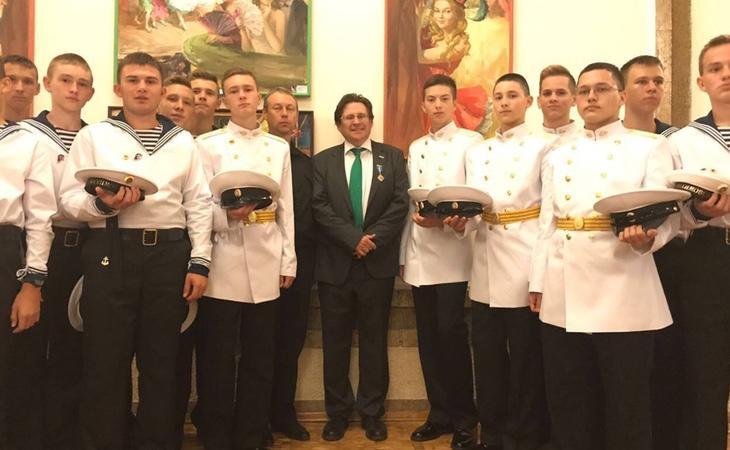 Altamirano participó en fastuosas reuniones con miembros destacados del gobierno ruso