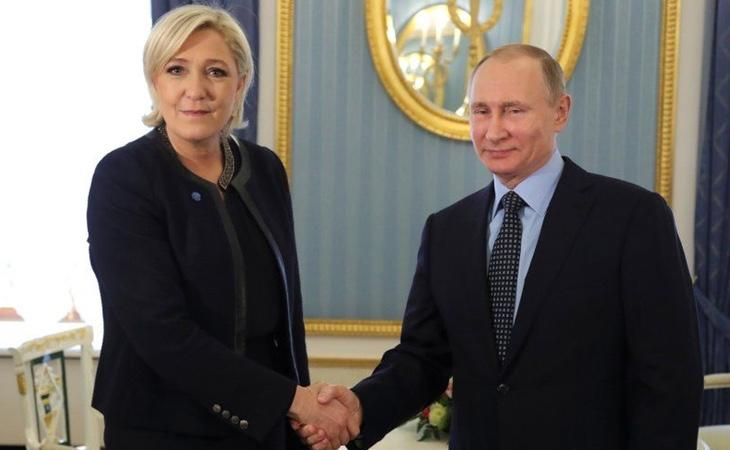 Putin ha mantenido encuentros de alto nivel con varios políticos europeos acusados de contar con el apoyo de Moscú