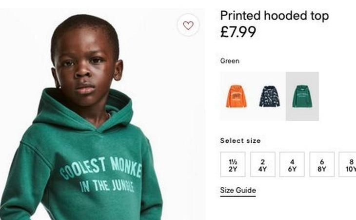 H&M fue acusada de racismo por esta imagen