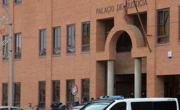 Exterior de los Juzgados de Aranda de Duero (Burgos). Foto: ICAL