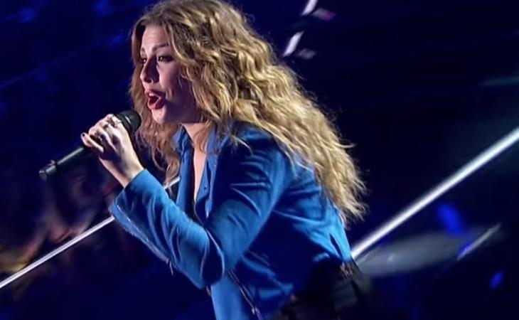 Miriam cantó 'Invisible' de Malú