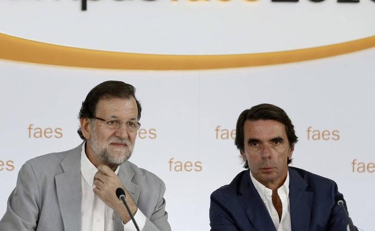 Aznar se ha desvinculado por completo del Partido Popular de Mariano Rajoy