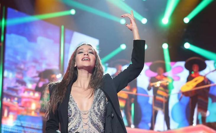 Ana Guerra interpretando 'La Bikina'