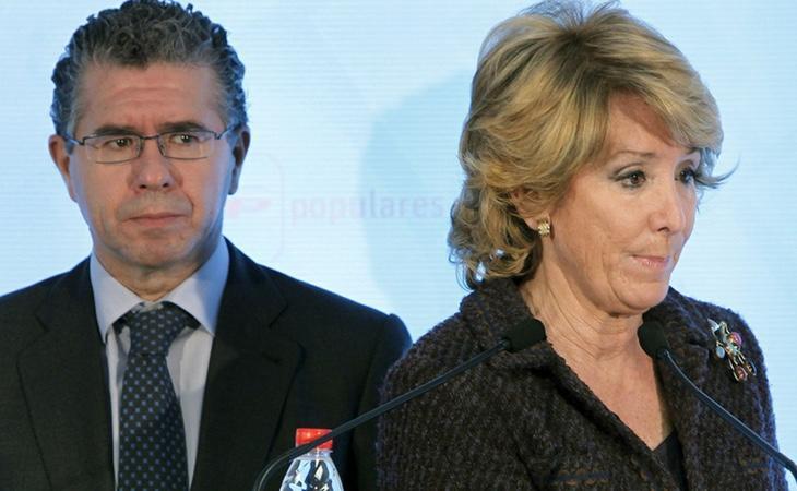 Esperanza Aguirre ganó las elecciones con