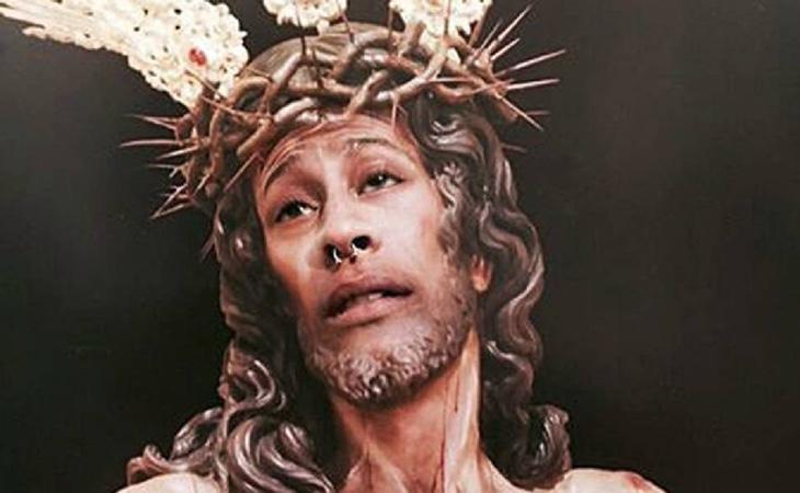 El joven ha sido condenado por publicar un montaje con la cara de Cristo en Instagram