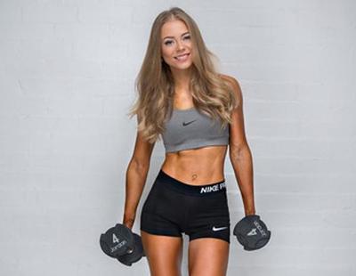 Lo que esconden las fotos de modelos fitness en Instagram