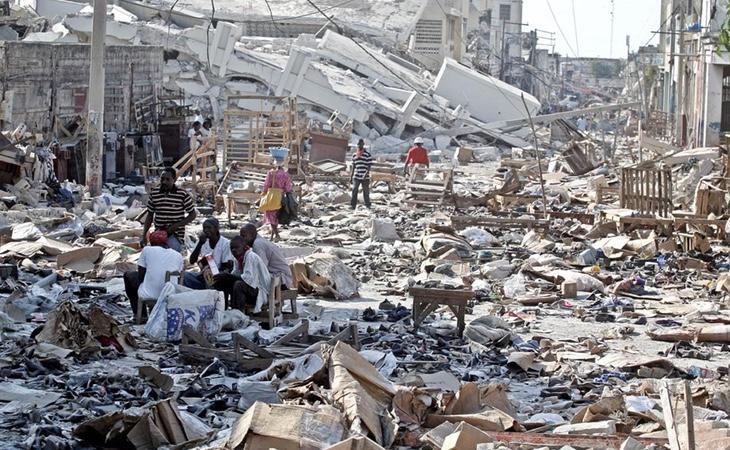 El país quedó en la más completa desolación